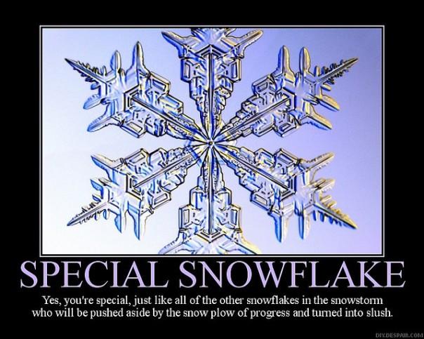 Snowflake special slush