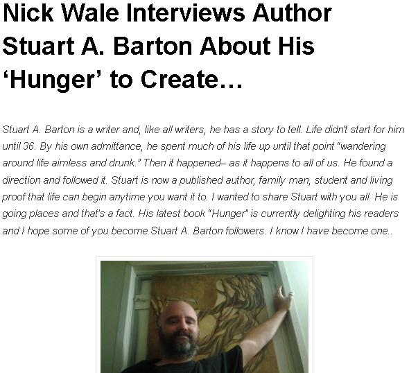 Interview With Nick Wale
