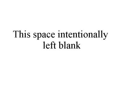BlankIntentionally