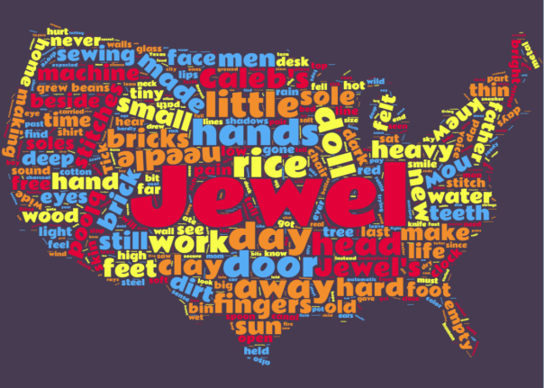 Word cloud -- Broken Rice at 14k post rewrite