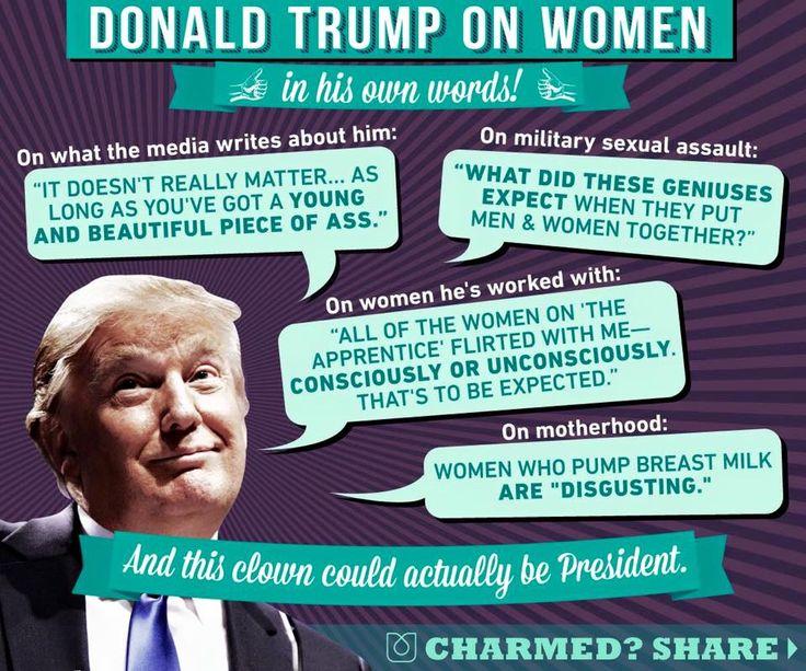 Trump misogyny