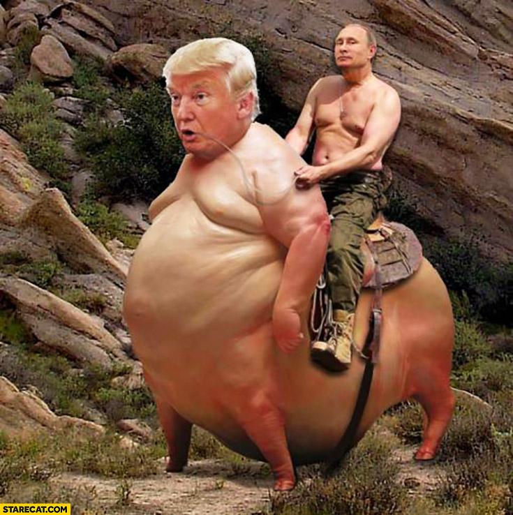 vladimir-putin-riding-huge-pig-with-donald-trumps-head