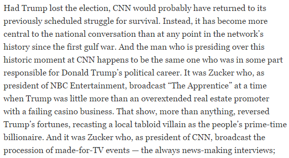 CNN Had a Problem. Donald Trump Solved It. The New York Times