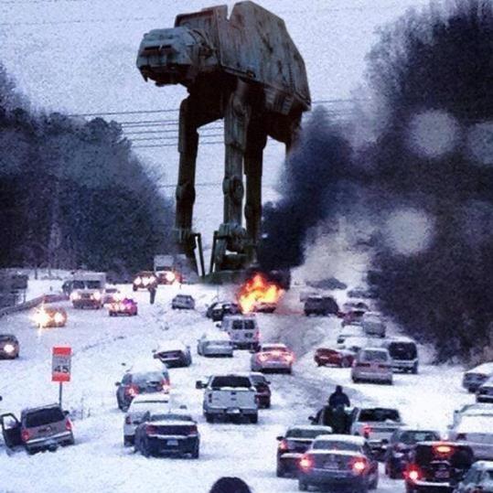Snowpocalypse Raleigh NC